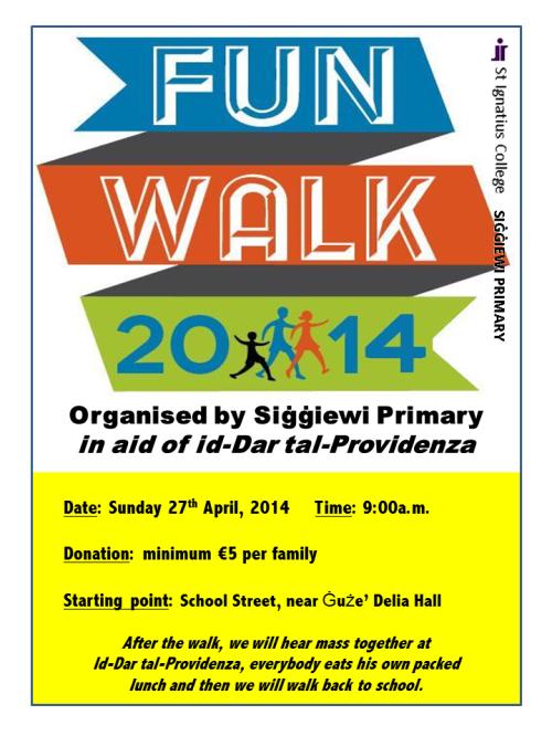 Fun Walk 2014