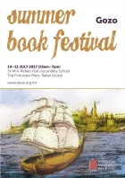 Summer Book Fest 2017 poster with timings