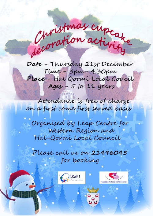 Christmas Cup Cake Decorating Activity - 21st December 2017