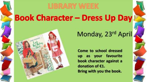 book character dress up day 2018